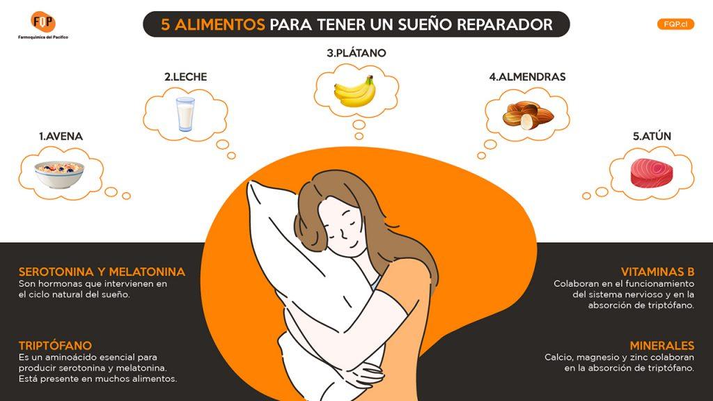 como dormir mejor infografia