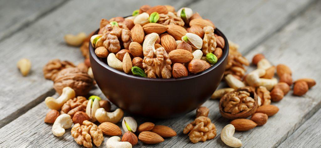 frutos secos Ansiedad y alimentos