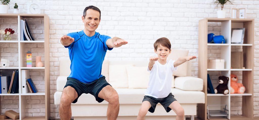 deporte en familia hierro