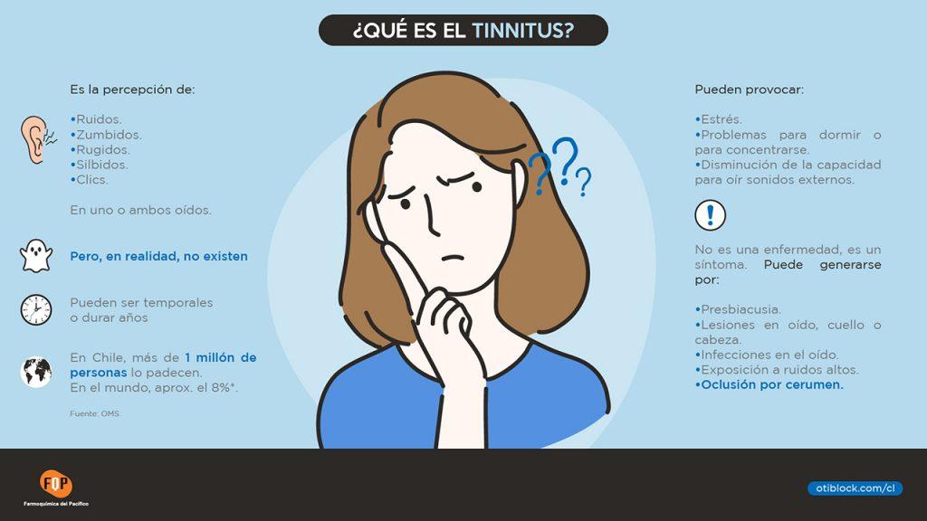 que es el tinnitus infografia